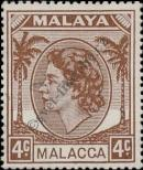 Stamp Malacca Catalog number: 30