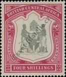 Stamp British Central Africa Protectorate Catalog number: 49
