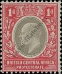 Stamp British Central Africa Protectorate Catalog number: 59