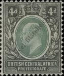 Stamp British Central Africa Protectorate Catalog number: 61