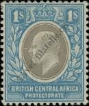 Stamp British Central Africa Protectorate Catalog number: 63