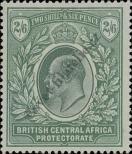 Stamp British Central Africa Protectorate Catalog number: 64