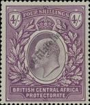 Stamp British Central Africa Protectorate Catalog number: 65