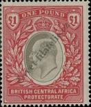 Stamp British Central Africa Protectorate Catalog number: 67