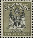 Stamp British Central Africa Protectorate Catalog number: 27
