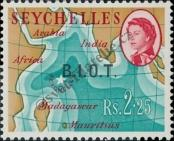 Stamp British Indian Ocean Territory Catalog number: 12