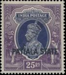 Stamp Patiala Catalog number: 91