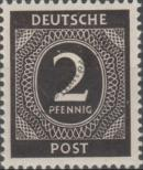 Stamp Joint allied occupation zone Catalog number: 912