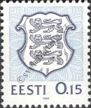 Stamp Estonia Catalog number: 167