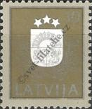 Stamp Latvia Catalog number: 306