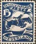 Stamp Netherlands Catalog number: 211