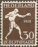 Stamp Netherlands Catalog number: 212