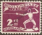 Stamp Netherlands Catalog number: 206