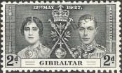 Stamp Gibraltar Catalog number: 105