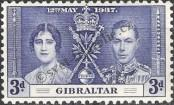 Stamp Gibraltar Catalog number: 106