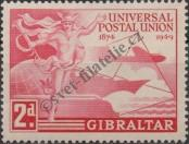 Stamp Gibraltar Catalog number: 125