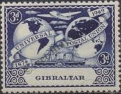 Stamp Gibraltar Catalog number: 126