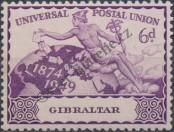 Stamp Gibraltar Catalog number: 127