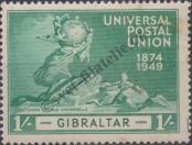 Stamp Gibraltar Catalog number: 128