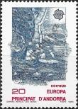 Stamp Andorra (Spanish) Catalog number: 200