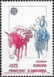 Stamp Andorra (Spanish) Catalog number: 201