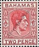 Stamp Bahamas Catalog number: 108
