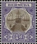 Stamp Bermuda Catalog number: 25