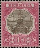 Stamp Bermuda Catalog number: 27