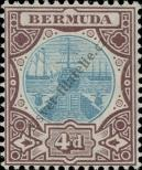 Stamp Bermuda Catalog number: 30