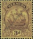 Stamp Bermuda Catalog number: 77