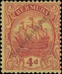 Stamp Bermuda Catalog number: 78