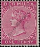 Stamp Bermuda Catalog number: 14