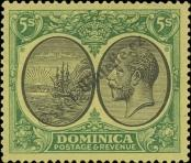 Stamp Dominica Catalog number: 66