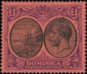 Stamp Dominica Catalog number: 67