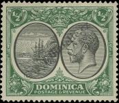 Stamp Dominica Catalog number: 68