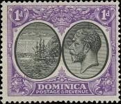 Stamp Dominica Catalog number: 69
