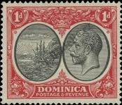 Stamp Dominica Catalog number: 70