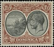Stamp Dominica Catalog number: 72