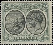 Stamp Dominica Catalog number: 73