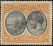 Stamp Dominica Catalog number: 74