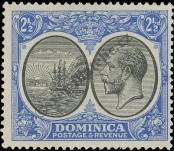Stamp Dominica Catalog number: 75
