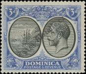 Stamp Dominica Catalog number: 76