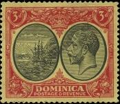 Stamp Dominica Catalog number: 77