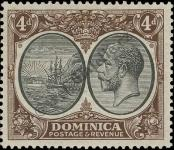 Stamp Dominica Catalog number: 78