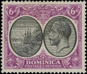 Stamp Dominica Catalog number: 79