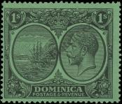 Stamp Dominica Catalog number: 80