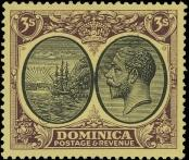 Stamp Dominica Catalog number: 83