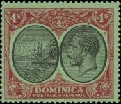 Stamp Dominica Catalog number: 84