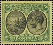 Stamp Dominica Catalog number: 85