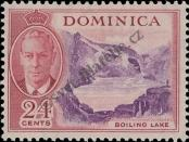 Stamp Dominica Catalog number: 128